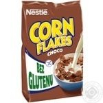 Готовый завтрак Nestle Corn Flakes с какао 450г