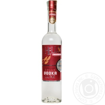 Shabo Hello Luxe vodka 40% 0,5l - buy, prices for Novus - image 1