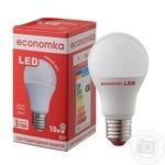 Лампа світлодіодна Economka LED A60 10W E27 2800K