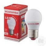 Лампа светодиодная Economka LED G45 6W E27 4200K