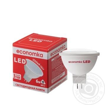 Лампа светодиодная Economka LED MR16 6w GU5,3 2800K
