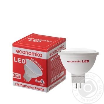 Лампа светодиодная Economka LED MR16 6w GU5,3 4200K