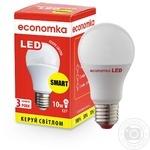 Лампа светодиодная Economka SMART LED A60 10W E27 2800K