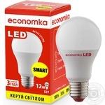 Лампа светодиодная Economka SMART LED A60 12W E27 4200K