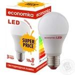 Лампа светодиодная Economka PROMO LED A60 10W E27 2800K