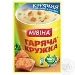 Mivina Garyacha kruzhka with croutons chicken soup-puree 12g