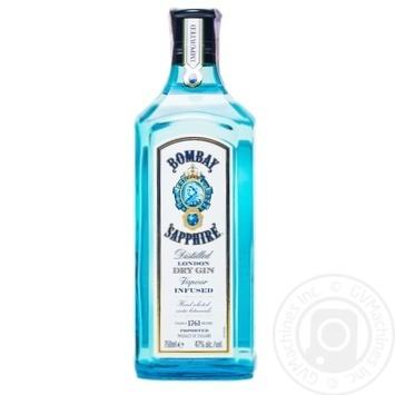 Bombay Sapphir Distilled London Dry Gin - buy, prices for Novus - image 1