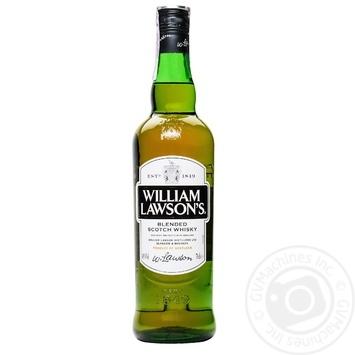 Виски William Lawson's 40% 0,7л - купить, цены на Novus - фото 3