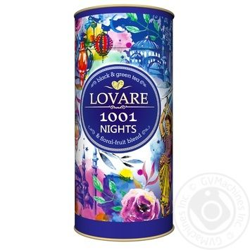 Lovare 1000 And 1 Night Black Tea - buy, prices for MegaMarket - image 1