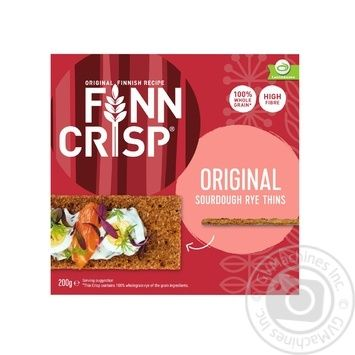 Сухарики Finn Crisp Original ржаные 200г - купить, цены на МегаМаркет - фото 1