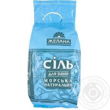Сіль для ванн Желанна Морська п/е 1кг