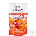 Мило рідке Vital Charm дой пак Апельсин 500мл