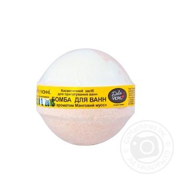 Бомба для ванн Dolce Vero Манговий мус 75г - купити, ціни на Фуршет - фото 1