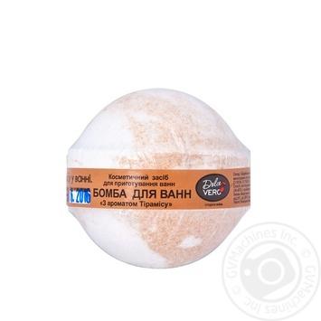 Бомба Dolce Vero для ванн Тирамису 75г - купить, цены на Фуршет - фото 1