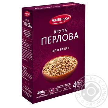 Zhmenka Pearl Barley in Bags 4x100g - buy, prices for Novus - image 1