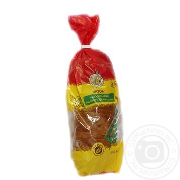Батон Хлебный дом Сиховский пшенично-ржаной 350г