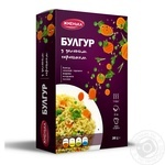 Zhmenka Bulgur with Green Peas 200g