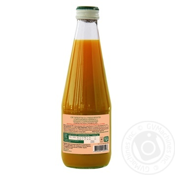 Смузи Galicia Морковь-абрикос 0,3л стекло - купить, цены на Novus - фото 2
