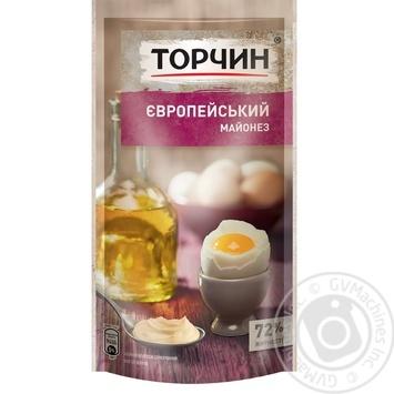 Майонез ТОРЧИН® Європейський 160г - купити, ціни на Novus - фото 1