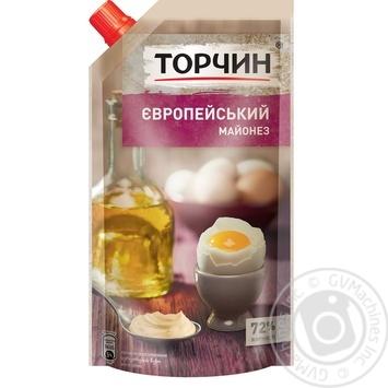 TORCHYN® Europeiskiy mayonnaise 300g - buy, prices for MegaMarket - image 1