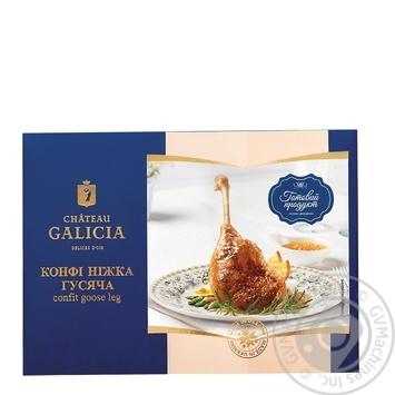 Конфи Ножка гусиная Chateau Galicia (упаковка ~ 800г)