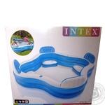 Басcейн надувной Intex для семейного отдыха 229Х229*66см