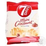 Круассаны 7 days мини с кремом какао 65г