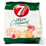 7Days Strawberry Mini Croissant