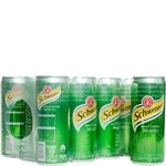 Schweppes Classic Mojito carbonated beverage 330ml