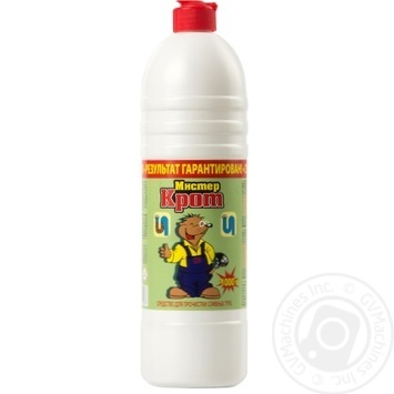 Mister Krot Means for clearing clogged drain pipes superconcentrate 1l - buy, prices for Furshet - image 1