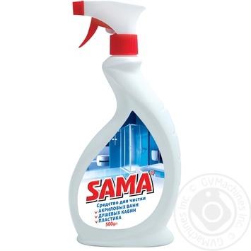 Средство SAMA для чистки акриловых ванн 500мл