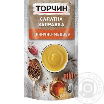 Салатная заправка ТОРЧИН® Горчично-медовая 140г - купить, цены на Ашан - фото 1
