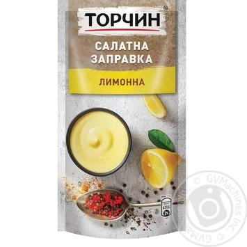 Torchin Lemon Salad dressing 140g - buy, prices for Novus - image 1