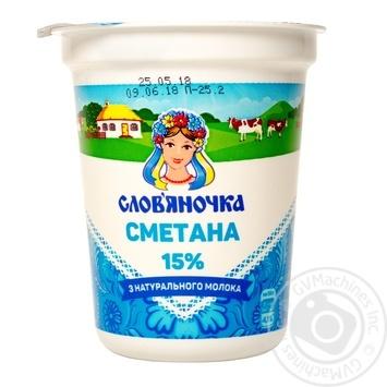 Slovianochka Sour cream 15% 345g