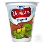 Dolce kiwi fruit yogurt 3.2% 280g