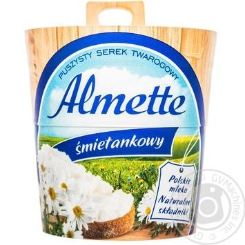 Сыр Hochland Almette сливочный 35% 150г - купить, цены на Ашан - фото 1