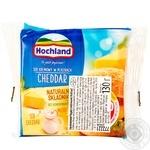 Сыр плавленый Hochland Чеддер ломтиками 130г