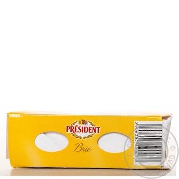 Сыр Президент Бри мягкий 60% 125г - купить, цены на МегаМаркет - фото 5