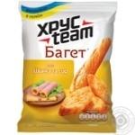 Сухарики Хрусteam Багет со вкусом ветчины и сыра 60г