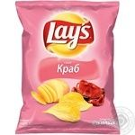 Lay's potato chips with crab flavor 71g