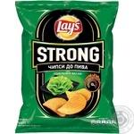 Чипсы Lay's Strong к пиву со вкусом васаби 62г