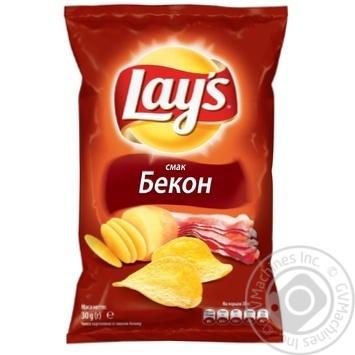Чипсы Lay's со вкусом бекона 30г