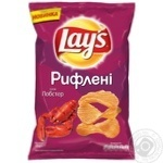 Lay's Wavy potato chips with lobster flavor 133g