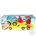 Technok Autotransporter with tractor