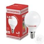 Лампа светодиодная Economka LED G45 6W E14 4200K