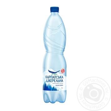Вода Карпатская Джерельна сильногазированная 1,5л