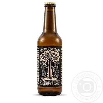 Пиво Microhistory Strange Connections світле без глютену 4,7% 0,33л