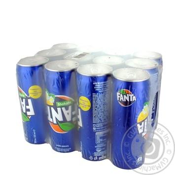 Напиток Fanta Shokata безалкогольный сокосодержащий сильногазированный  0,33л