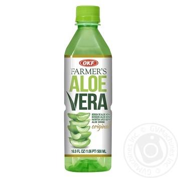Напиток OKF на основе алоэ вера безалкогольный негазированный 0,5л - купить, цены на Метро - фото 2