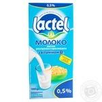 Молоко Lactel ультрапастеризоване з вітаміном D3 0,5% 1кг